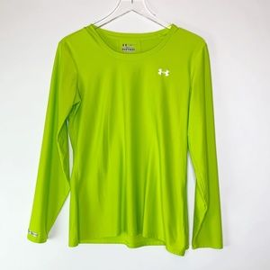 Under Armour Fitted Long Sleeve Performance Tee XL